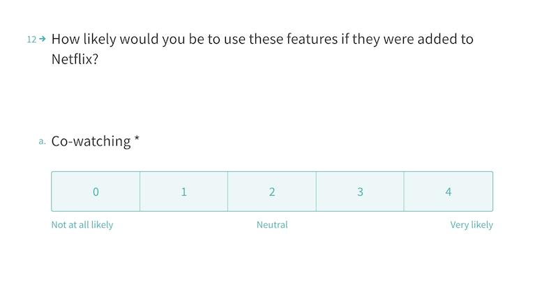 Netflix-customer-survey-example
