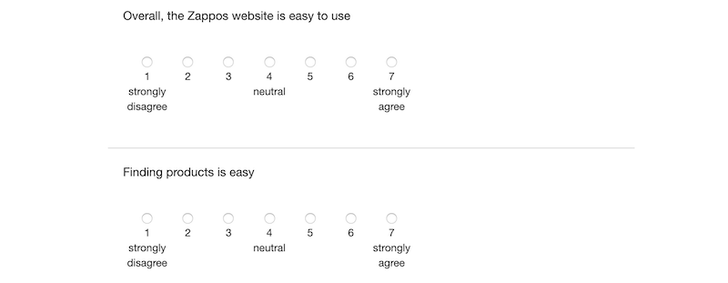 Zappos-customer-survey-example