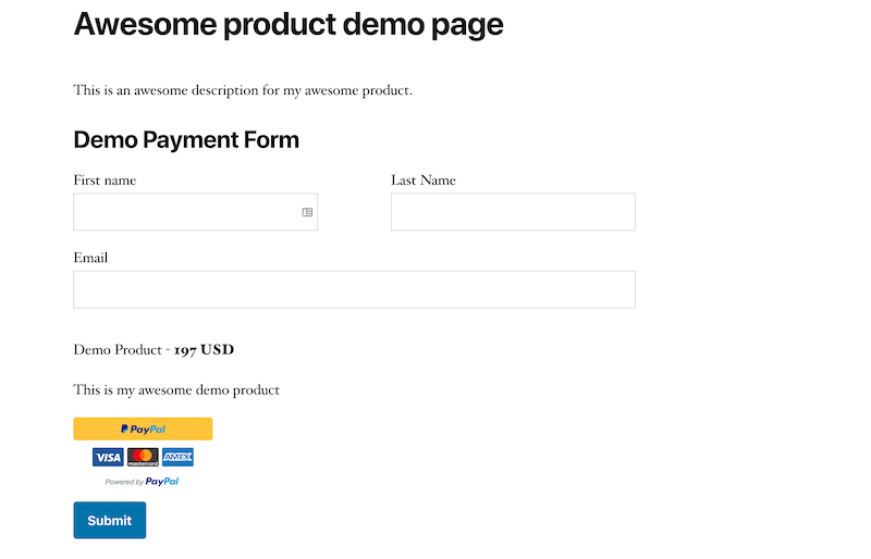 kali-forms-order-form-demo