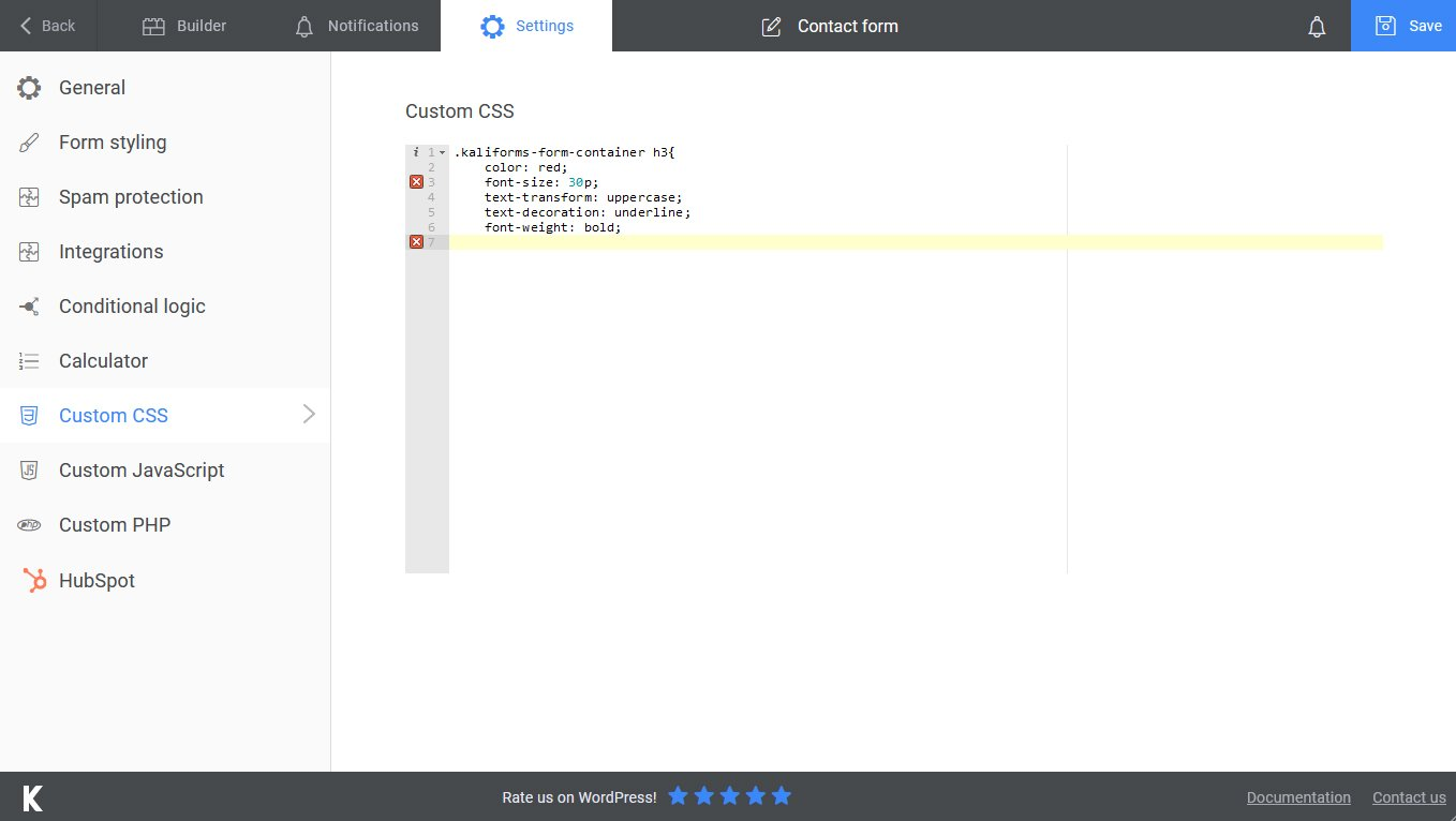 Syntax highlight feature