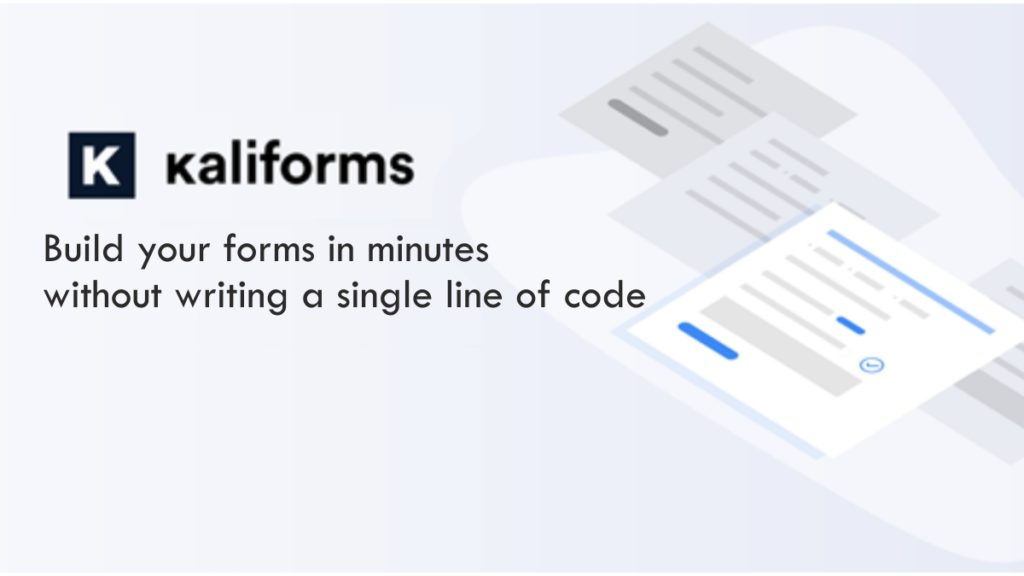 Kali Forms WP plugin